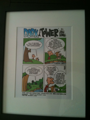 Framed Dork Tower