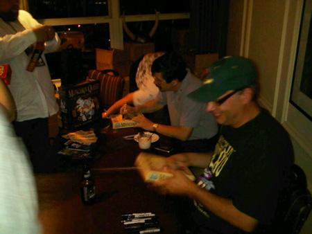 Steve and John signing
