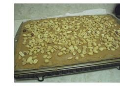 Caramel and Peanuts layer