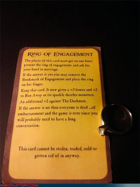 Munchkin Engagement Card