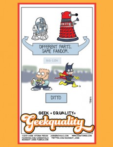Geek + Equality = GEEKUALITY