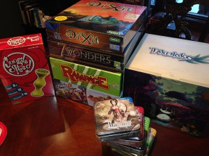This is coming from Asmodee alone! Loot, lads! Look at the LOOT!